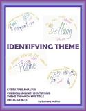 LITERATURE ANALYSIS UNIT: IDENTIFYING THEME THROUGH MULTIP