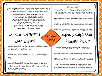 LITERATURE CIRCLE Group Work Assignment Mats