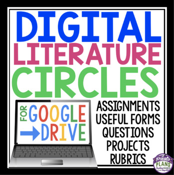 DIGITAL LITERATURE CIRCLES FOR GOOGLE DRIVE