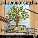 LITERATURE CIRCLES, FIGURATIVE LANGUAGE POSTER FOR ANY NOVEL OR SHORT STORY