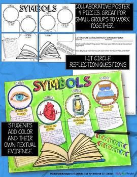LITERATURE CIRCLES, SYMBOLS, SYMBOLISM, FOR ANY NOVEL OR SHORT STORY