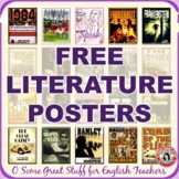 LITERATURE POSTERS FOR THE ENGLISH CLASSROOM--FREE