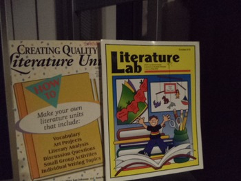 LITERATURE UNITS    LITERATURE LAB        (SET OF 2)