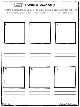 Reading Response Printables for Any Book