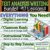 TEXT DEPENDENT ANALYSIS - TEXT EVIDENCE - LITERATURE PROMPTS BUNDLE! 83 Lessons!