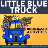 LITTLE BLUE TRUCK Activities Worksheets and Interactive Re