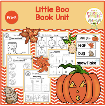 LITTLE BOO  BOOK UNIT