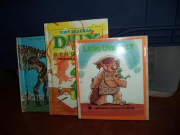 LITTLE DINOSAUR,DILLY,VISIT DINO     (SET OF 3)