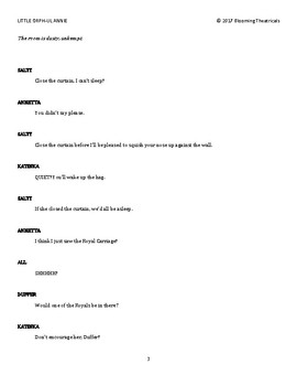 LITTLE ORPH-UL ANNIE -a pantomime parody-