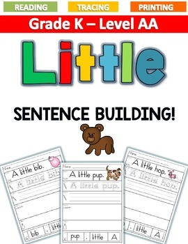 LITTLE Sentence Building LEVEL AA
