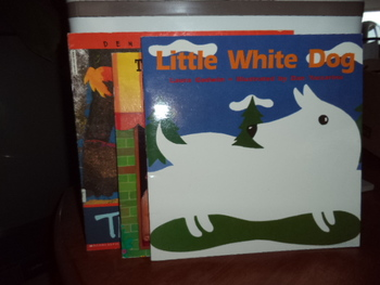 LITTLE WHITE DOG,TEN DOGS IN THE WDW,TIME (set of 3)