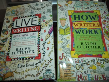 LIVE WRITING   HOW WRITERS WORK      (SET OF 2)