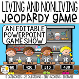 LIVING AND NONLIVING THINGS GAME SHOW GR. 1-2