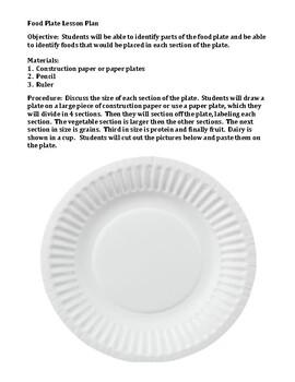 Healthy Eating Plate Worksheet
