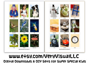 LIVING & NONLIVING CaRdS DiGiTaL DoWnLoAd speech autism ab