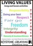 'LIVING VALUES' MP3 ~ Children SING & LEARN about 9 core v