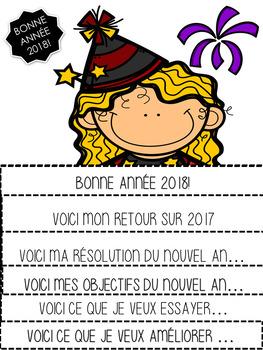 LIVRE À RABATS - BONNE ANNÉE 2018!  - (New Years)  - (French - FSL)