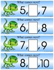 LIZARDS -  Numbers   What Comes Next - 21 Activity cards