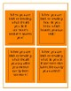 LIfe SKills Halloween Task Cards