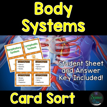 Life Science Card Sort Bundle
