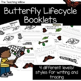 Lifecycle of a Butterfly Tracing and Writing Booklets