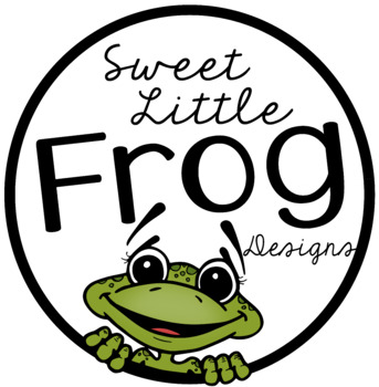 **Sweet Little Frog Designs Store Buttons and Terms of Use**