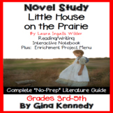 Little House on the Prairie Novel Study & Enrichment Project Menu