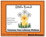 LIttle Quack Reading Street Unit 3 Week 2 Common Core Literacy Stations