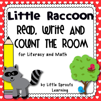 Little Raccoon Read Write and Count the Room