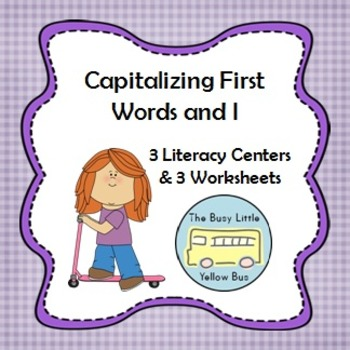 L.K.2.A Capitalizing First Words & I