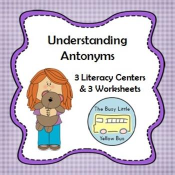 L.K.5.B Understanding Antonyms