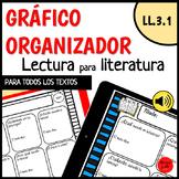 LL.3.1 Organizador Gráfico Literatura / LL.3.1 Literature Graphic Organizer