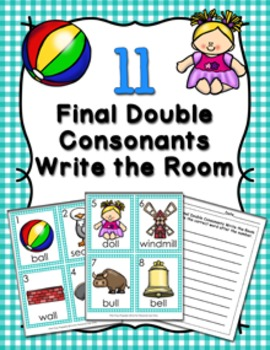 LL Final Double Consonants Write the Room