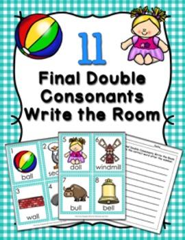 LL Final Double Consonants Write the Room
