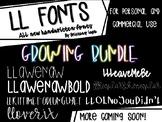 LL Fonts *GROWING BUNDLE*