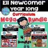 ELL Newcomer Year Long ESL Curriculum  ESL Activities ESL Lesson Plans