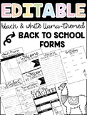 LLAMA Back to School Forms
