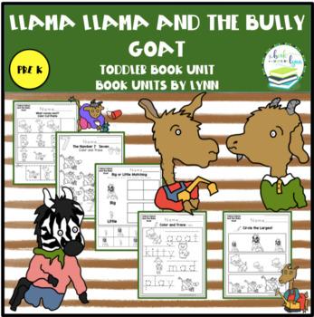 9012b6df3e LLAMA LLAMA AND THE BULLY GOAT TODDLER BOOK UNIT by Book Units by Lynn