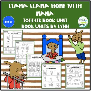 3107fcfd9b LLAMA LLAMA HOME WITH MAMA TODDLER BOOK UNIT by Book Units by Lynn