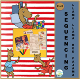LLAMA LLAMA RED PAJAMA Large Sequencing