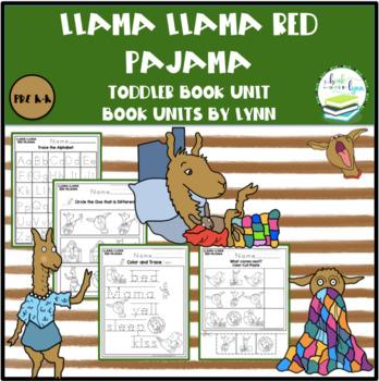 47e309dc9b LLAMA LLAMA RED PAJAMA TODDLER BOOK UNIT by Book Units by Lynn