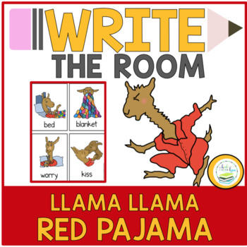 LLAMA LLAMA RED PAJAMA WRITE THE ROOM