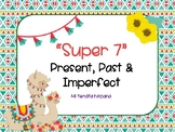 "LLAMA THEMED SPANISH ""SUPER 7"" VERBS PRESENT, PAST & IMPERFECT"