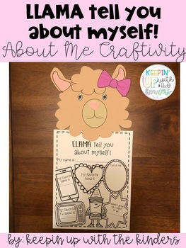LLAMA tell you about myself! About me Craft