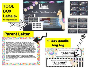 LLAMA theme classroom decor for BACK TO SCHOOL