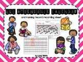 {EDITABLE} LLI Attendance & Running Record Documents