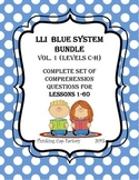 LLI BLUE System Bundle  (Vol. 1) Complete Set of Questions for Lessons 1-60