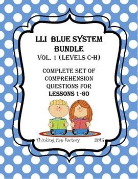 LLI BLUE System Bundle  (Vol. 1) Complete Set of Questions for Lessons 1-60