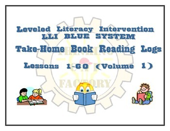 LLI BLUE System Bundle of Comprehension Questions (Vol. 2) and Reading Logs