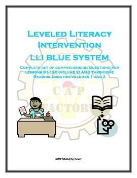LLI BLUE System Bundle of Comprehension Questions (Vol. 2)